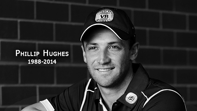 "Philip Hughes: ""A loss... not a waste.... 63 not out """
