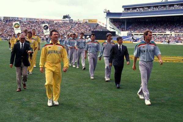 Leading from the front -World Cup 1992